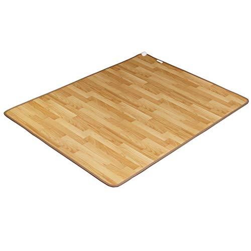 GOFEY° Infrarot Bodenmatte,bequemer Fußschalter,Beheizbare Infrarot-Fußboden-Matte,Heizmatte pflegeleicht und rutschfest,für Zuhause und Büro