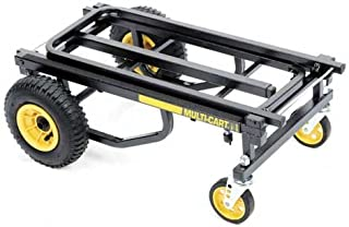 Multicart R6 Mini Transporter with Molded Rear Wheels, Load capacity: 500 lbs. / 27 cu. ft.