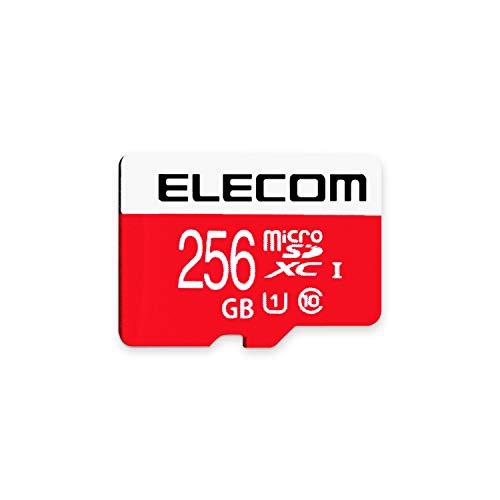 エレコム microSDXCカード 256GB UHS-I/U1/Class10 NINTENDO SWITCH動作検証済み GM-MFMS256G