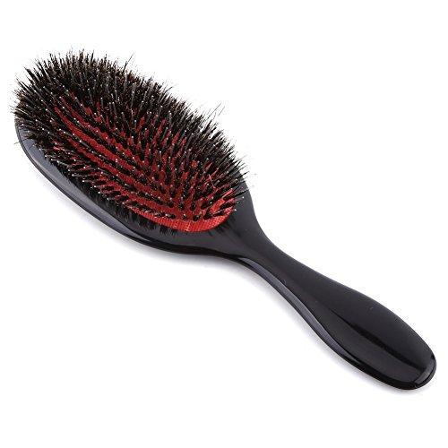 ovale Haarbürsten kämmen antistatische entwirrende glättende Massage Kunstborsten Haarbürsten