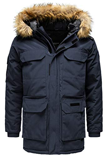 Red Bridge heren winter jas winter parka mantel lange winterjas M6066A