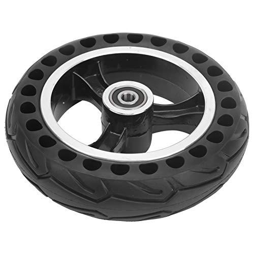 Vbest life Neumático de Goma Maciza 200x50, neumático de Repuesto para Rueda de Scooter eléctrico a Prueba de explosiones con Cubo de 8 Pulgadas
