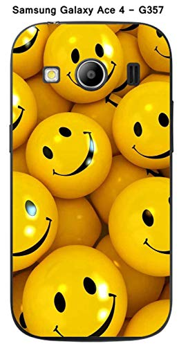 Onozo Cover Caramelle Smile per Samsung Galaxy Ace 4–G357
