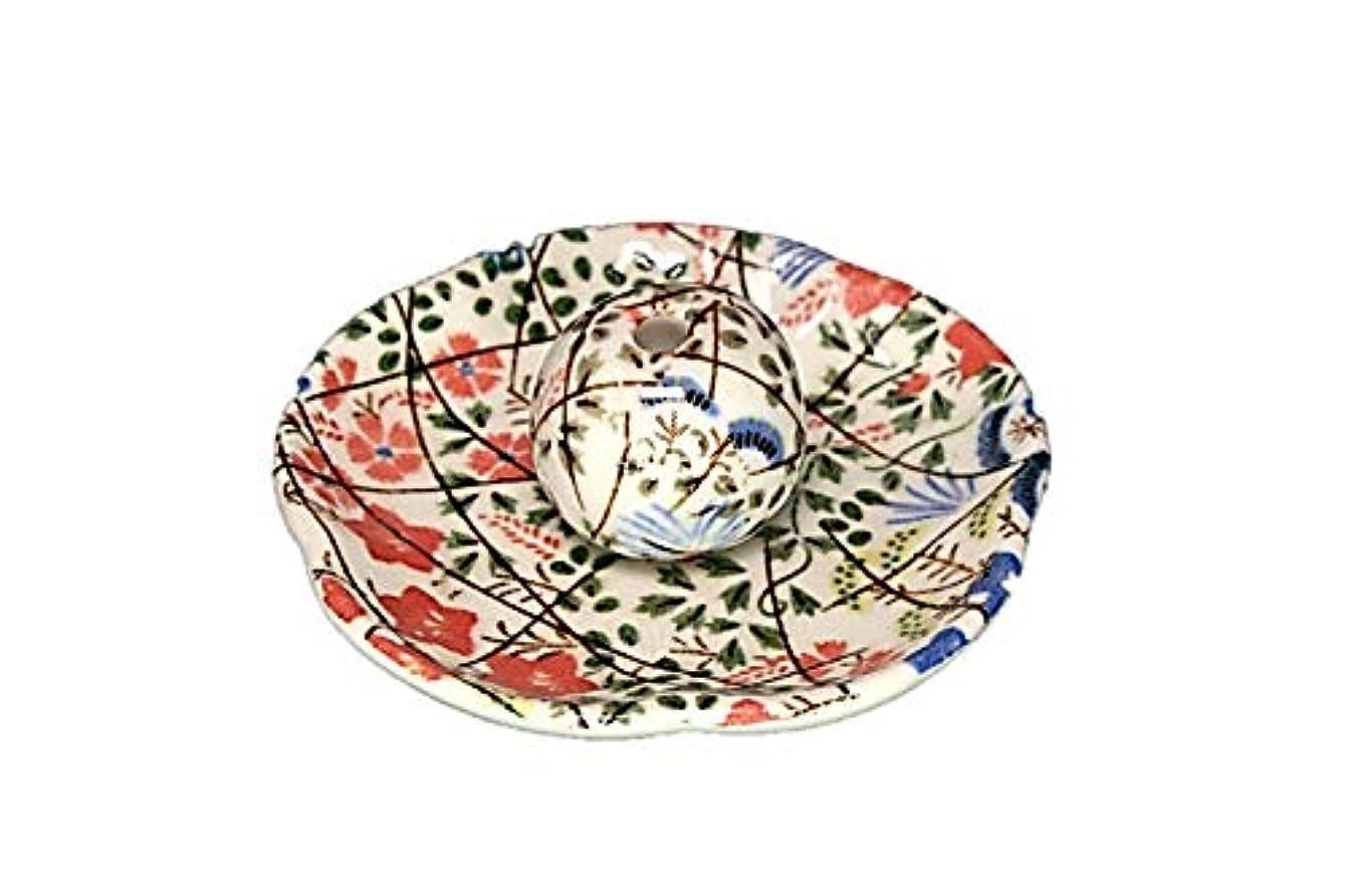 規範進化居間錦織 はな野 花形香皿 お香立て お香たて 日本製 ACSWEBSHOPオリジナル