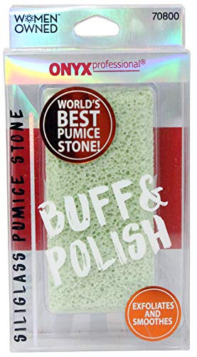 Onyx Professional Double Sided 100% Siliglass Callus Remover Pumice Stone