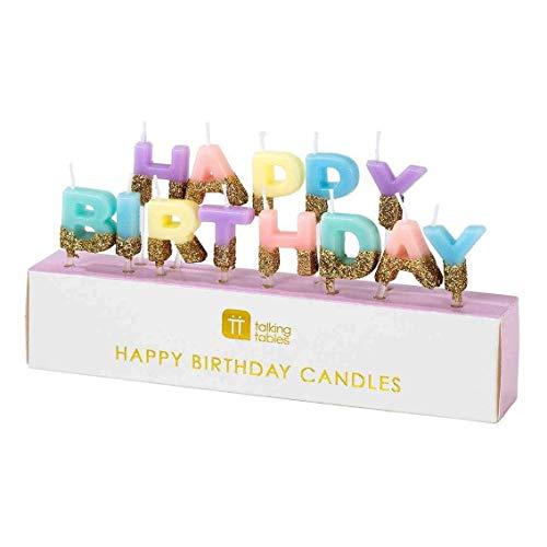We Heart Birthdays Happy Birthday Candles