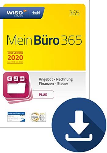 WISO MeinBüro 365 (2020) Plus | PC Download | Bürosoftware, Rechnung schreiben, Umsatzsteuervoranmeldung, Buchhaltung u.v.m.