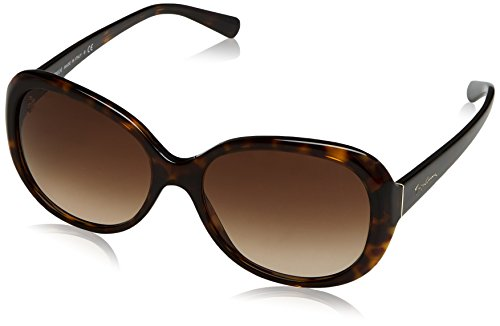 Armani 0AR8047 Gafas, Marrón (Havana/Brown), 56 para Mujer