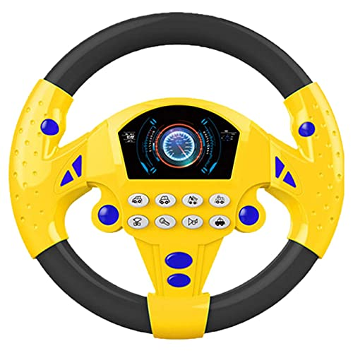 Ashley GAO Rueda de coche de juguete para niños bebé juguete interactivo...