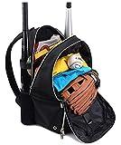 Lekesky Baseball Bat Bag Youth Backpack Adults Baseball & Softball...