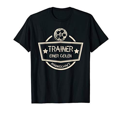 Shirt - Bester Fussball Trainer - Geschenkidee