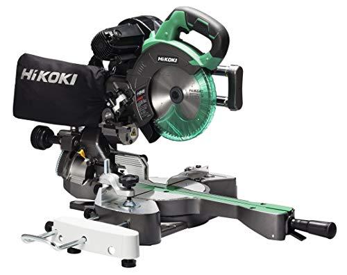 HiKOKI(ハイコーキ) 旧日立工機 卓上スライド丸のこ AC100V 刃径190mm 両傾斜 ?切断幅1尺(312mm) 内装材・フロア材切断 レーザーマーカー・LEDライト内蔵 チップソー付き C7RSHD
