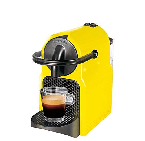 Magimix Inissia Independiente Totalmente automática Máquina de café en cápsulas 0.7L 1tazas Negro, Amarillo - Cafetera...