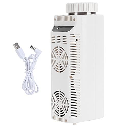 Cikonielf Caja de refrigerador de insulina Caja de refrigerador portátil Enfriador para Viajes a casa Alimentación USB Blanco 500ml DC5V 24w