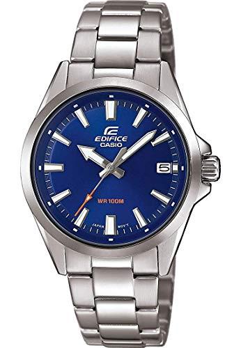 CASIO Herren Analog Quarz Uhr mit Edelstahl Armband EFV-110D-2AVUEF