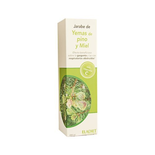 Eladiet Jarabe Yemas De Pino Y Miel - 200 ml