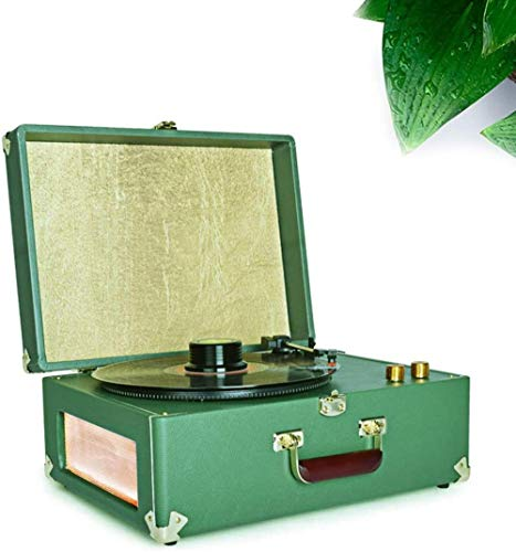 TYX-SS Vinyl Record Player Modern Beauty, Old-Fashioned Phonograph Classical Retro Portable Portable Living Room Household Vinyl Record Player