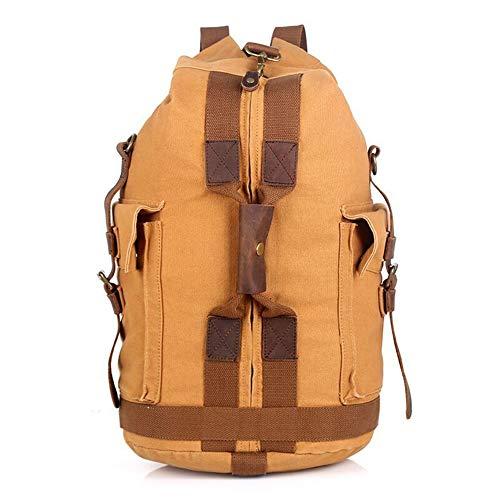 DRF Canvas Rucksack im Vintage Look Daypack für Freizeit 27L Duffle Bag #BG-32