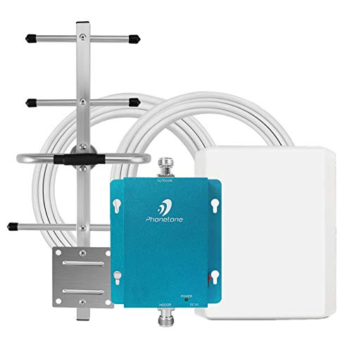 GSM 3G Cell Phone Signal Booster for Home and Office - 850MHz Band 5 Cellular Repeater with...