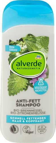 Alverde – Shampoo gegen Fett und normales Haar –...