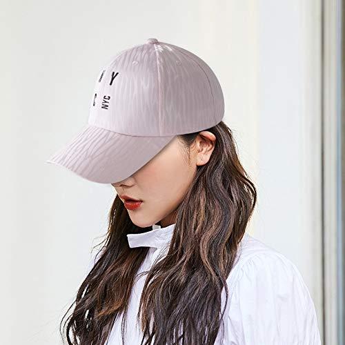 Primavera y Verano Gorra con Visera Mujer Coreana Moda al Aire Libre Bordado de Encaje Informal Protector Solar Malla sombrilla Sombrero para el Sol