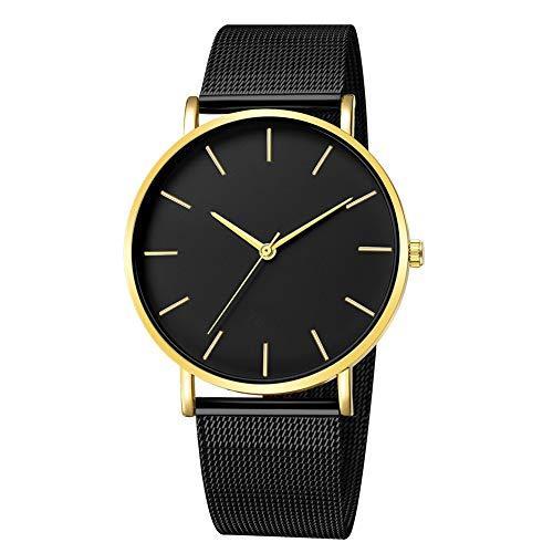 RONSHIN Polshorloges, Mannen Mode Eenvoudige Horloge Ronde Wijzerplaat Quartz Beweging Horloge Student Horloge Accessoires