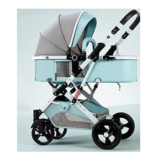 El artefacto del cochecito, los cochecitos pueden sentarse, acostarse ligeramente pliegue ligeramente la absorción de choques de alto paisaje de dos vías para el automóvil infantil recién nacido