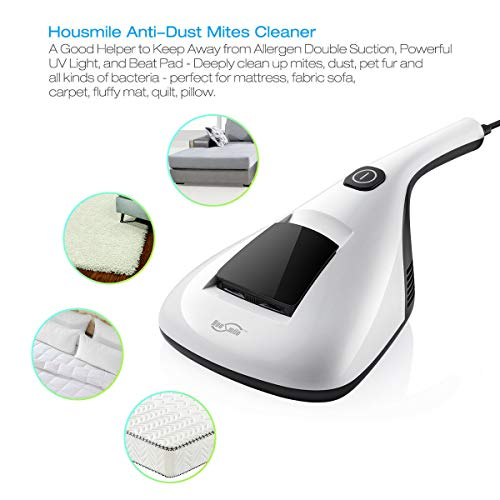 Buy Discount WWX Handheld Anti-Dust Mites UV Vacuum Cleaner for Mattress Bed Carpet Sofa Pillow