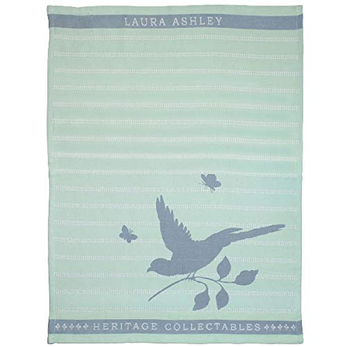 Laura Ashley - Paño de cocina - Mint Bird - Algodón - (LxAn): 70 x 50 cm