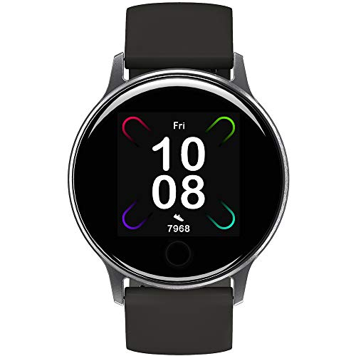Smart Watch UMIDIGI Uwatch 3S, Fitness Tracker with Blood Oxygen Monitor and Heart Rate Monitor for Women Men. 5ATM Waterproof Activity Tracker with Compass for iPhone Android.