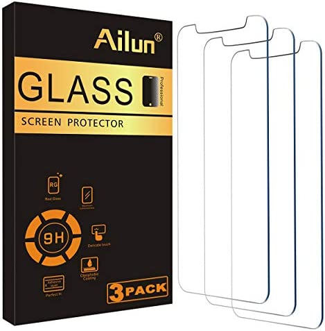 Ailun Glass Screen Protector Compatible for iPhone 12 iPhone 12 Pro 2020 6 1 Inch 3 Pack Tempered product image