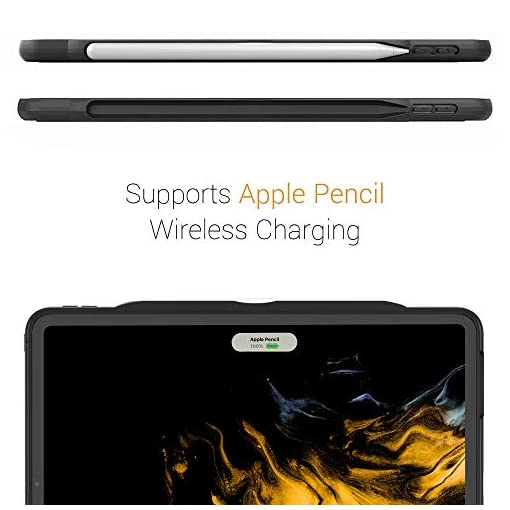 ZUGU Funda para iPad Pro 12.9 2020 4.ª Generación, Alpha Case Protectora Pero Delgada con 10 Ángulos de Visión… 3