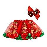 SOIMISS Noël Tutu Jupe Ballet Habiller Costume de Noël avec...