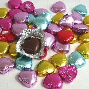 2.5gプティハートチョコレート 業務用 1kg