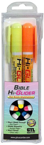 Price comparison product image Bible-Hi-Glider Gel Stick: Hangable 2pk Yellow / Orange