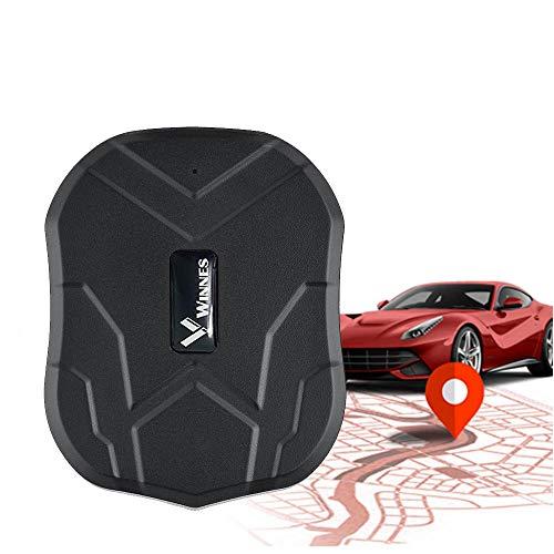 Localizador GPS,150 Días de Tiempo de Espera Prolongado Impermeable GPS Tracker de Imán Fuerte para Coche, Moto ,Congelador, Barco TK905B