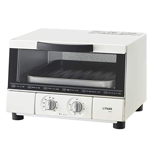 タイガー オーブン トースター うまパン トリプルヒーター設計 マットホワイト KAE-G13N-WE