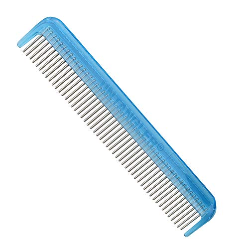 Pet comb with silky smooth rotating teeth for easy mat removal without...