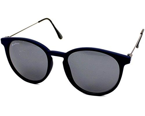 MONTANA S33 Gafas, Multicolor (Azul/Smoked Lenses), Talla única Unisex Adulto