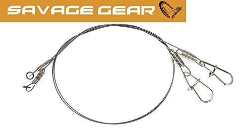 Savage Gear Sedal de titanio para pesca de lucio, 22 cm, 0,5