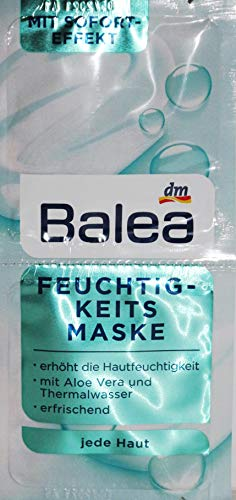 Balea Feuchtigkeitsmaske Maske 10er Packung für 20 Anwendungen