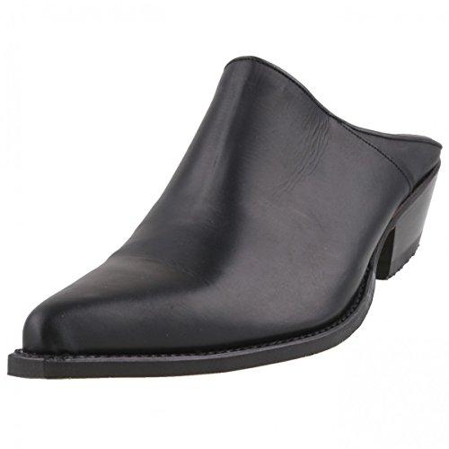 Sendra Herren Western-Clogs 4977 Schwarz, Schuhgröße:EUR 45