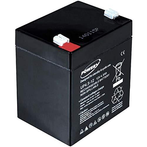 akku-net Blei-Gel Akku 12V 4,5Ah, 12V, Lead-Acid