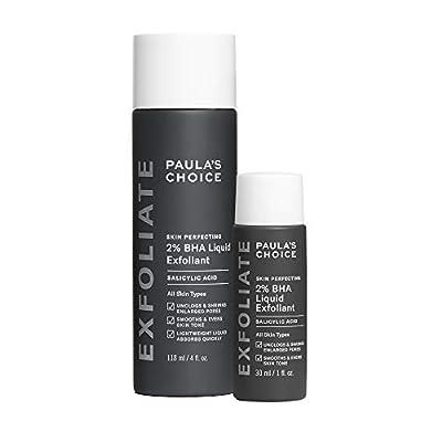 Paula's Choice Skin Perfecting 2% BHA Liquid Salicylic Acid Exfoliant, Facial Exfoliator for Blackheads, Large Pores, Wrinkles & Fine Lines
