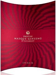 It's Skin Prestige Masque Ginseng D'escargot Mask Sheet 5pcs