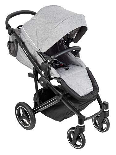 Moby System Kinderwagen leicht 2 in 1, Kinderwagenset, Kombikinderwagen, Babyschale, Buggy mit des Koffers, für...