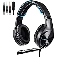 LETTON L6 Noise Cancelling Lightweight Gaming Headset with Mic for PS4, PC, Xbox