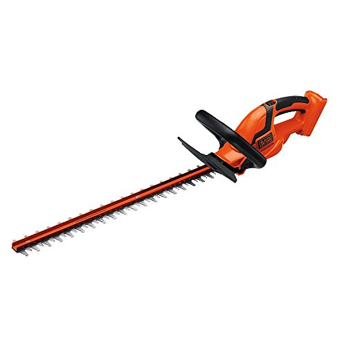 BLACK+DECKER 36V MAX Cordless Hedge Trimmer, 24-Inch, Tool Only (LHT2436B)