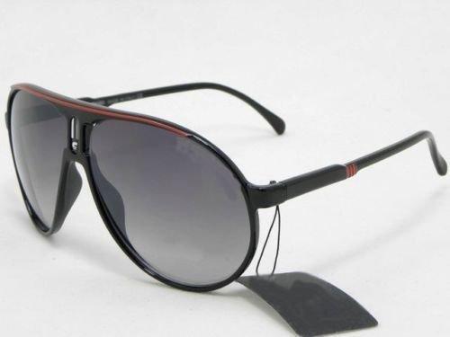 Sunvision Lunettes de Soleil Style Carrera Noir