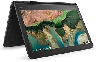 Lenovo Chromebook 300e (2nd Gen) 11.6-inch HD Touch Screen 32GB eMMC, 1.1GHz Celeron N4020 (4GB RAM, SD Card Reader, Blac...